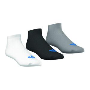 Adidas-Trebol-Liner-kurzsocken-Paquete-de-3-Blanco