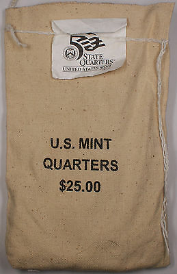 2006 South Dakota P State Quarter Original Mint Sewn Bag 100 UNC coins $25