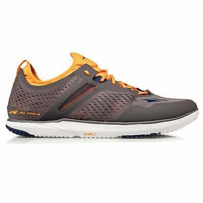 Altra Kayenta Mens Zero Drop Foot Shape Road Running Shoes Grey Orange Ebay
