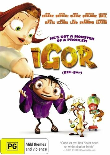 1 of 1 - AS NEW Igor (DVD, 2009)