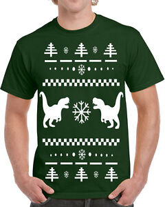 image is loading 357 t rex ugly christmas sweater mens t - Dinosaur Christmas Sweater