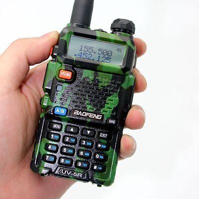 BAOFENG UV-5R VHF/UHF Dual Band 136-174/400-520MHz FM Ham Two Way Radio B0478