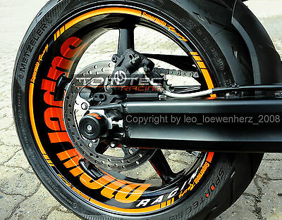 Aufkleber Felgenaufkleber Supermoto Sticker Ktm Superduke 950 990 Rc8 1190 Sm