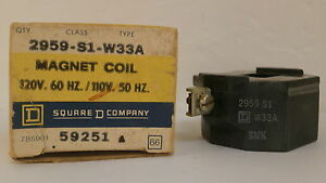 Square D Relay Magnet Coil 2959S1W33A