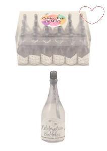 1-96-Champagne-Bottle-Bubbles-Silver-Wedding-Table-Decoration-Party-Bag-Favour