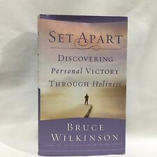 Set Apart : Discovering Personal Victory Through Holiness Bruce Wilkinson HC DJ