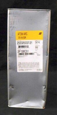 "7018 ATOM ARC WELDING ELECTRODE ESAB 3//16/"" X 14/"" 7018-SR 255325037-21"