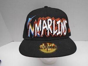 Image is loading Official-Miami-Marlins-Florida-MLB-Baseball-Hat-Cap- c04451166f70