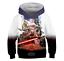 Star Wars The Rise of Skywalker 3D Hoodies Boys Kids Sweatshirts Coat 110-160CM