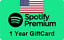 spotify-Premium-giftcard-1-year-real-card thumbnail 1