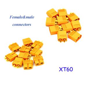 10pcs-xt-60-los-conectores-o-enchufes-conector-macho-hembra-RC-Lipo-bateria