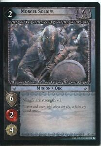 Lord-Of-The-Rings-CCG-Card-RotK-7-C199-Morgul-Soldier