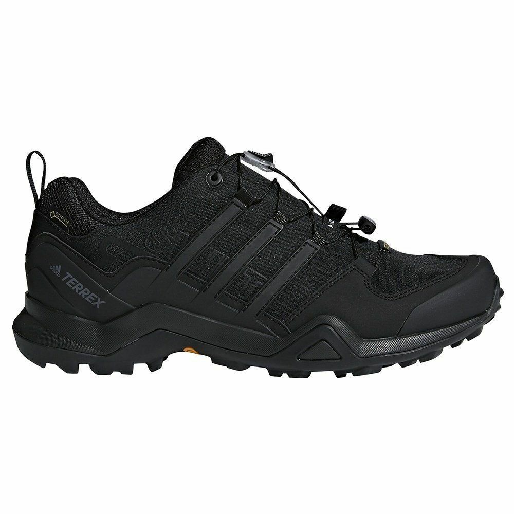 Mens Adidas Terrex Swift R2 GORE-TEX Hiking Shoes Black Light All Comfortable