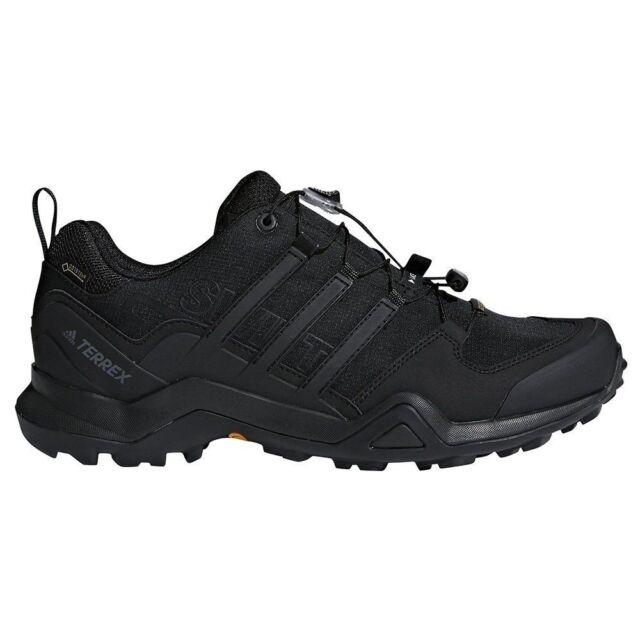 145123dc65a Mens Adidas Terrex Swift R2 GORE-TEX Hiking Shoes Black Light All Sizes NIB