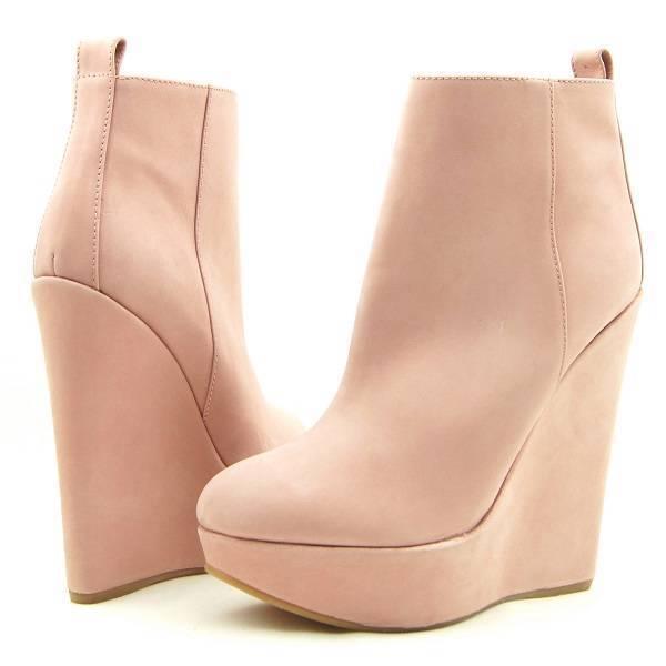 NIB $625 Dsquared2 D2 Wedge Heel Platform Zip Ankle Boots, Women's 8US/39EU