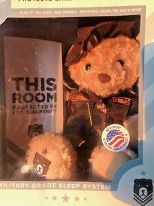 NEW-Zzz-Bears-Sgt-Sleeptight-Teddy-Bear-Military-Grade-Sleep-System