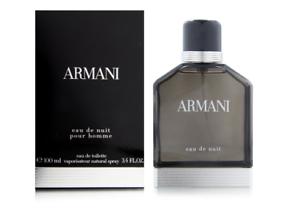100ml-Armani-Eau-de-Nuit-pour-Homme-Eau-de-toilette-3-3-oz-Descatalogado