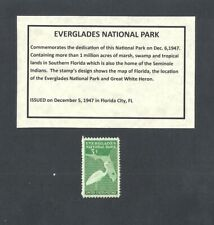 Fort Bliss US Block of 4 with Informational Card 976