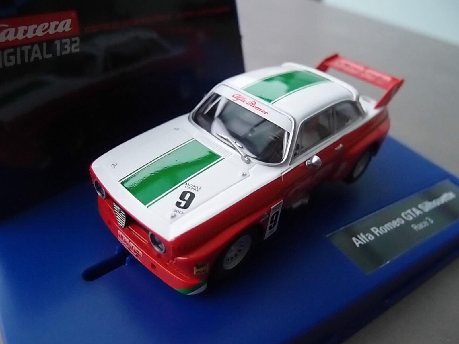 Carrera Digital 132 30647 Alfa Romeo Gta Silhouette Race 3 Light Nip