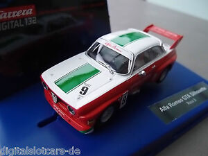 Carrera-Digital-132-30647-Alfa-Romeo-GTA-Silhouette-Race-3-LICHT-NEU-OVP