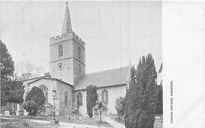 POSTCARD-BUCKINGHAMSHIRE-CHESHAM-Parish-Church