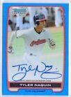 /150 Tyler Naquin Indians 2012 Bowman Draft Blue REF AUTO Autograph RC Rookie SP