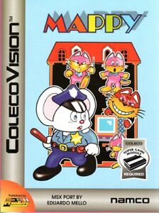 Details about MAPPY for Colecovision / ADAM Cart  - NEW - Super Game Module  REQUIRED