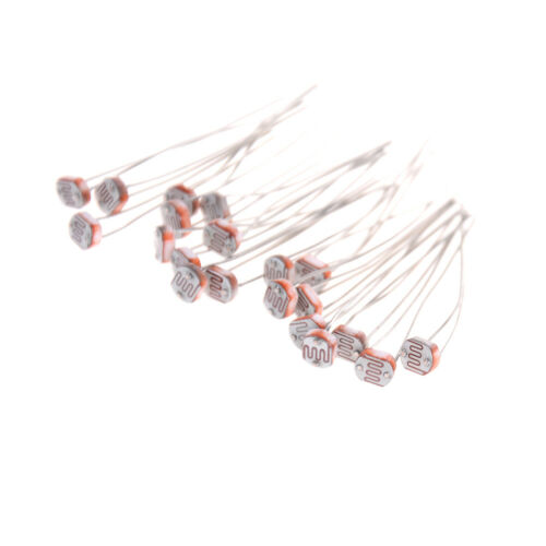 20Pcs 5mm 5549 Photo Light Sensitive Resistor Photoresistor Optoresistor C SP