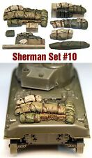 1/35 Scale Sherman Engine Deck Set #10 Value Gear Details - Resin Stowage
