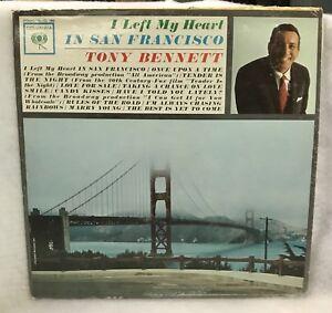 Vintage-Tony-Bennett-I-Left-Me-Heart-In-San-Francisco-Vinyl-LP