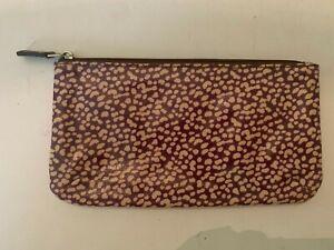 Fossil Leopard Pattern Make-Up Bag
