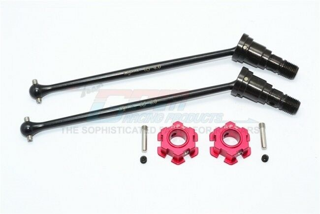 GPM TXM8170N-R F OR R HARDEN STEEL  45 CVD W/ ALLOY HEX 1/5 RC TRAXXAS X-MAXX 8S