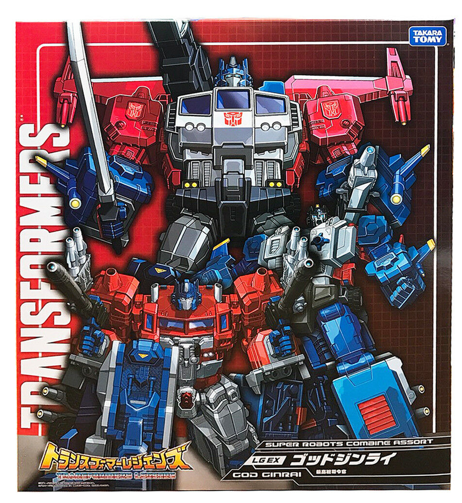 Takara Transformers Legends LG-EX Powermaster Optimus Prime God Ginrai NEW