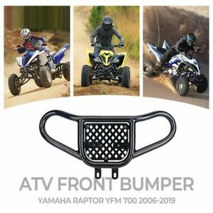Atv Front Bumper Grab Bar Black For Yamaha Raptor 700 Yfm 700 Yfm700 All Year Ebay