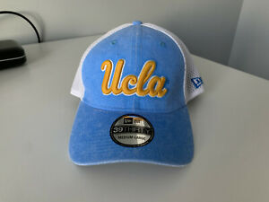 buy popular bf1ca a4f38 Image is loading UCLA-Bruins-New-Era-39THIRTY-Washed-Neo-Flexfit-