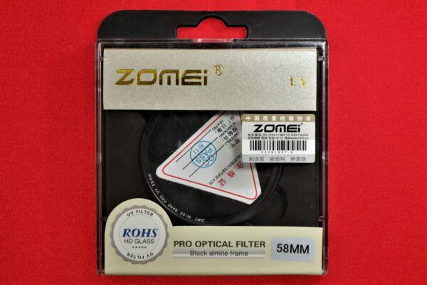 58 Mm Pro Optical Uv/protecteur Filtre Hd-verre - ** Uk Stock **