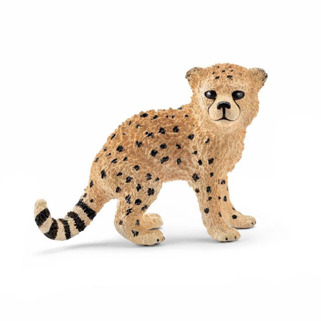 Schleich 14747 Cheetah Cub (Wildlife) Plastic Figure
