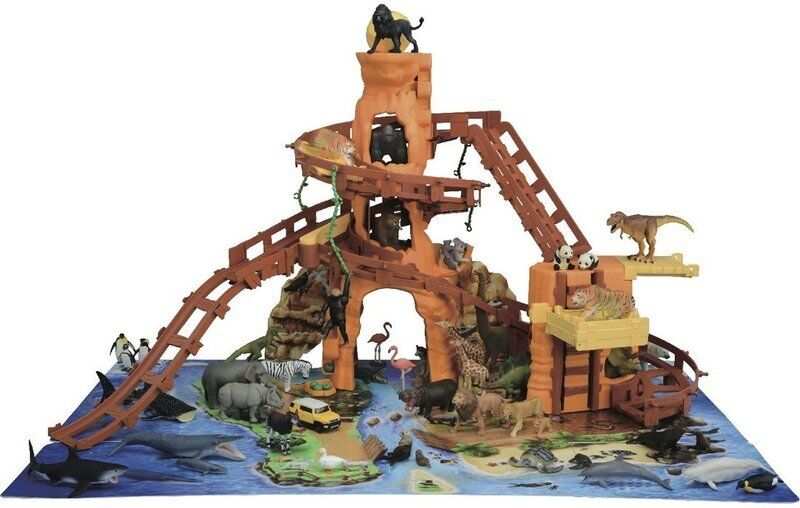 NEW  Takara Tomy Ania Mountain Island Animal adventure from Japan EMS