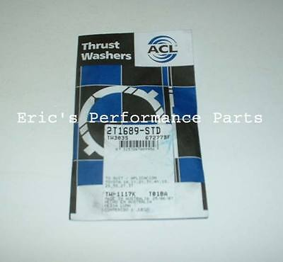 ACL 2T1689-STD Thrust Washer Bearings Toyota 3SGTE 3S-GE MR2 Celica SW20 S162