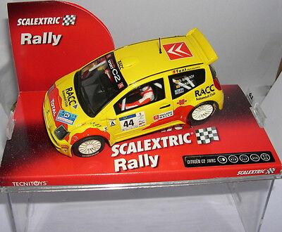 Kinderrennbahnen Elektrisches Spielzeug Scalextric 6284 Citroen C2 Jwrc #44 27 Rallye Kantabrien D.balasch-m.muÑoz Mb