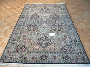 4-039-3-X-6-Brand-New-Karastan-Rug-Empress-Kirman-Black