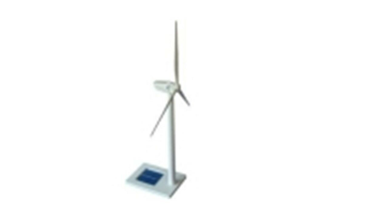 Solar Photovoltaic Scientific Wind Turbine Model Kit for Kids and Adults 16