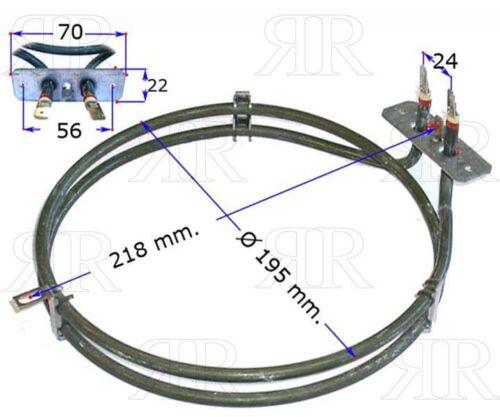 Smeg Resistenza Forno Ventilato 2400 Watt Multimarche Aeg Ariston Indesit