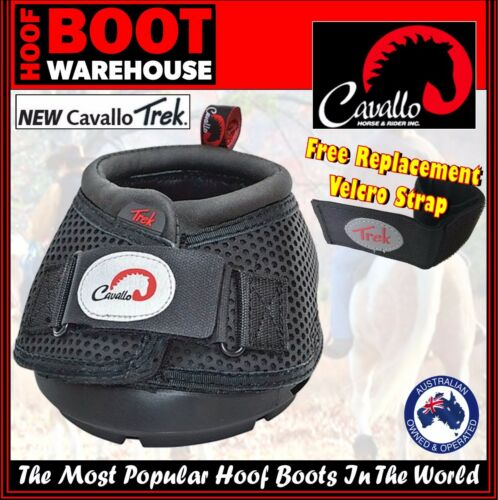 Cavallo 'TREK' Hoof Boots Pair Horse. Equine. Hoof Protection, Comfort. NEW