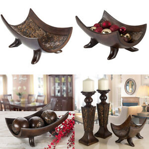 Details About Decorative Bowl Centerpiece Coffee Table Dining Living Room Home Decor Tray Ball