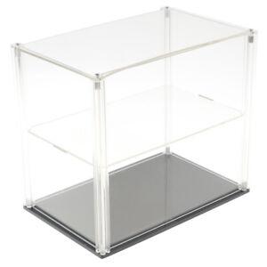 hotte 1423 vitrine acrylique 200x200x200mm socle Poussière Protection,