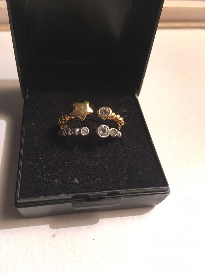 Ring, sølv, Christina smykker