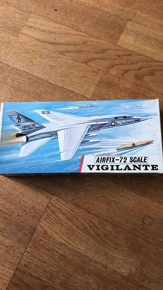 Byggesæt, Airfix Vigilante, skala 1/72