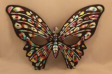 Black Butterfly Mask Italian Masquerade Venetian Masked Ball Eye Face Papillon