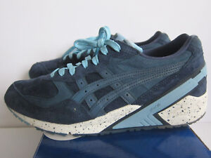 low priced 0180b bdf5f RONNIE FIEG KITH ASICS GEL-SIGHT WCP ATLANTIC SZ 9.5 NAVY DARK BLUE ...